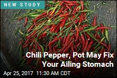 Chili Pepper, Pot May Fix Your Ailing Stomach
