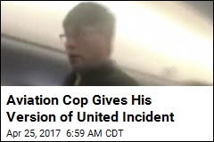 Aviation Cop Gives His Version of United Incident