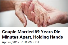 Couple Married 69 Years Die Holding Hands