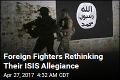 Foreign Fighters Are Fleeing ISIS Territory