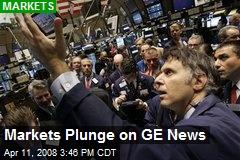 Markets Plunge on GE News