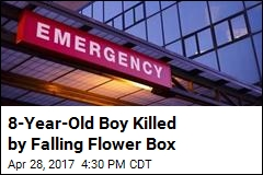 8-Year-Old Boy Killed by Falling Flower Box