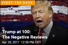Trump at 100: The Negative Reviews
