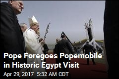 Pope Celebrates Open-Air Mass in Egypt