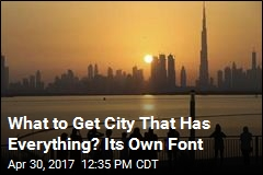 What to Get City That Has Everything? Its Own Font