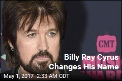 Billy Ray Cyrus Changes His Name