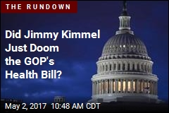Did Jimmy Kimmel Just Doom the GOP's Health Bill?