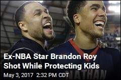 Ex-NBA Star Brandon Roy Shot While Protecting Kids