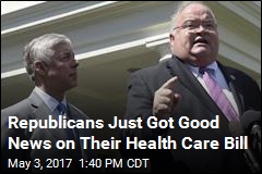 2 Republican Reps Switch to 'Yes' on GOP Health Care Bill