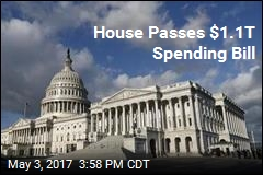 House Passes $1.1T Spending Bill