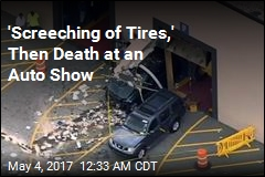 SUV Suddenly Accelerates, Kills 3 at Auto Show