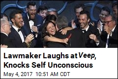 Lawmaker Laughs at Veep , Knocks Self Unconscious