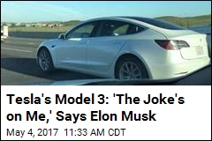 Musk Wanted Tesla's Car Models to Spell 'S-E-X-Y'