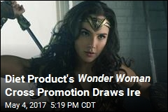 Diet Product's Wonder Woman Cross Promotion Draws Ire