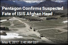 Pentagon: Raid Killed Afghan ISIS Leader