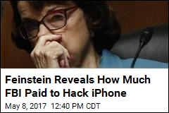 Shooter's iPhone Cost FBI $900K to Hack: Feinstein