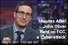 Minutes After John Oliver Rant, FCC Site Crashes
