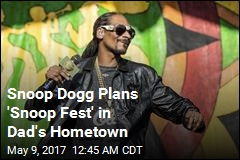 Snoop Dogg Wants to Create Festival in Dad's Hometown