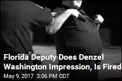 Florida Deputy Does Denzel Washington Impression, Is Fired