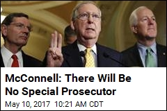 McConnell: There Will Be No Special Prosecutor