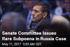 Senate Intelligence Committee Subpoenas Michael Flynn