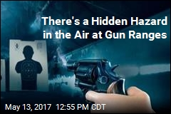 There's a Hidden Hazard in the Air at Gun Ranges