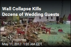 Wall Collapse Kills 25 at India Wedding