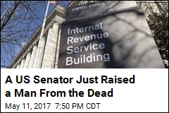 A US Senator Just Raised a Man From the Dead