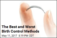 The Best and Worst Birth Control Methods