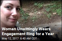 Woman Unwittingly Wears Engagement Ring for a Year