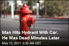 Florida Man Drowns After Crashing Car Into Fire Hydrant
