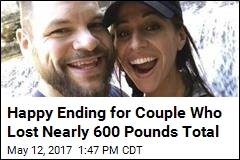 They Lost Nearly 600 Pounds, and Now Comes the Wedding