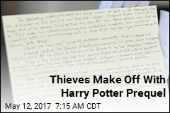 Thieves Make Off With Harry Potter Prequel
