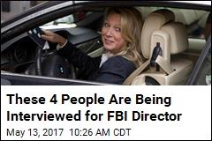 Trump Officials Interview 4 FBI Director Candidates