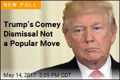 Only 29% Approve of Comey Dismissal