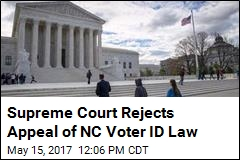 Supreme Court Rejects Appeal of NC Voter ID Law