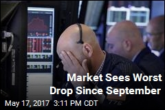Dow Ends Day Down 372
