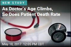 As Doctor's Age Climbs, So Does Patient Death Rate