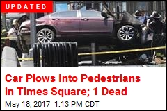 1 Killed as Car Mows Down Times Square Pedestrians