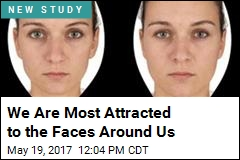 We Are Most Attracted to the Faces Around Us