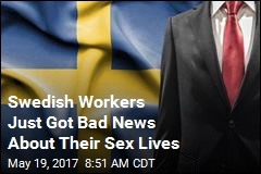 Swedish Workers Told to Have Sex on Own Time