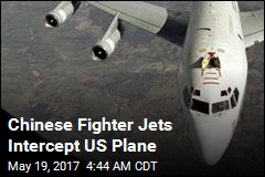 US Protests Intercept by Chinese Jets