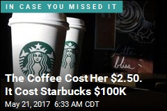 Starbucks Must Spill $100K in Hot-Coffee Suit