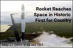 Rocket Reaches Space in Historic First for Country