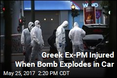 Greek Ex-PM Injured When Bomb Explodes in Car