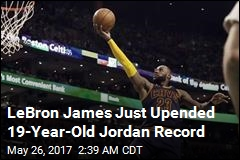 LeBron James Sets New NBA Scoring Record