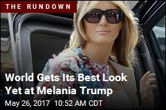 World Gets Its Best Look Yet at Melania Trump