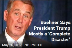 Boehner Would Rather Drink Wine, Mow Lawn Than Be President