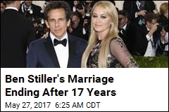 Ben Stiller, Christine Taylor Ending 17-Year Marriage