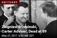 Zbigniew Brzezinski, Carter Adviser, Dead at 89